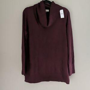 LOFT | Cowl Neck Tunic Sweater